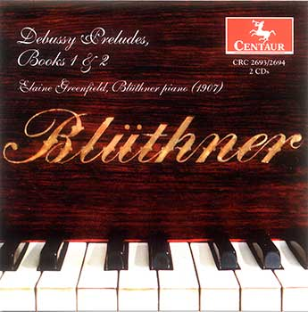 Debussy Preludes, Books 1 & 2 – Recording on the Blüthner Piano