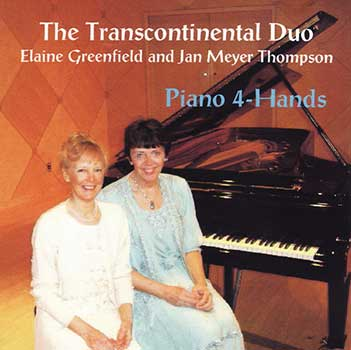 The Cathedral Church of Saint Paul and Cathedral Arts presents : Elaine Greenfield and Jan Meyer Thompson Piano 4-Hands